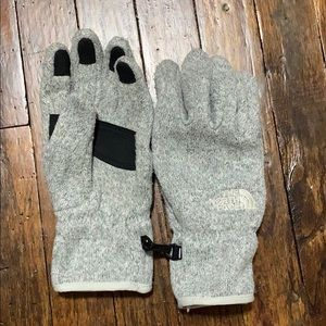 The North Face Heather Gray Gloves